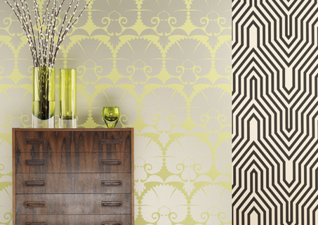 wall paper interior design on still loving wallpaper inspiration pepperjack interiors - Wall Paper Interior Design