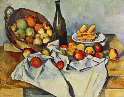 "Paul Cezanne ""The Basket of Apples"""