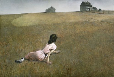 "Andrew Wyeth ""Christina's World"""