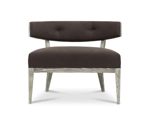 Anyone looking for a modern flair would have to look no farther than this statement chair.