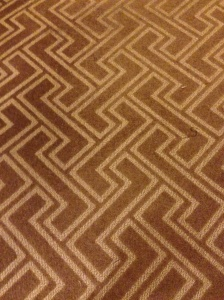 greek key carpeting