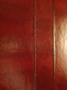 leather wall finish